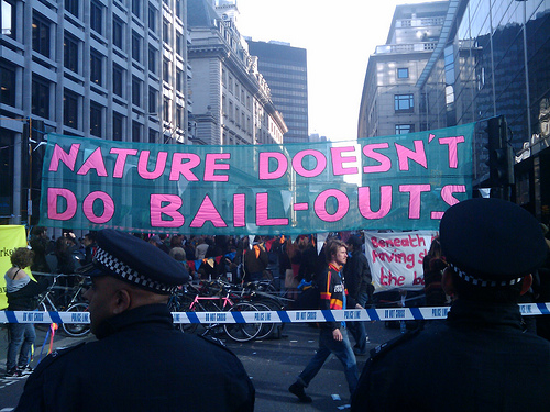 Nature Doesn't Do Bailouts