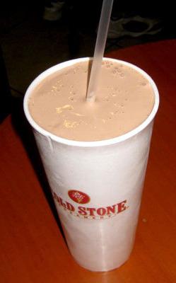 Cold Stone shake.