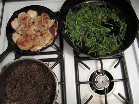 Dinner stove
