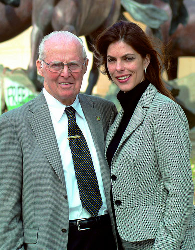 Norman and Julie Borlaug