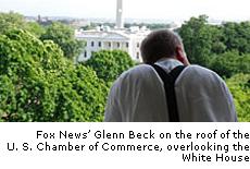 Glenn Beck at the U.S. Chamber of Commerce