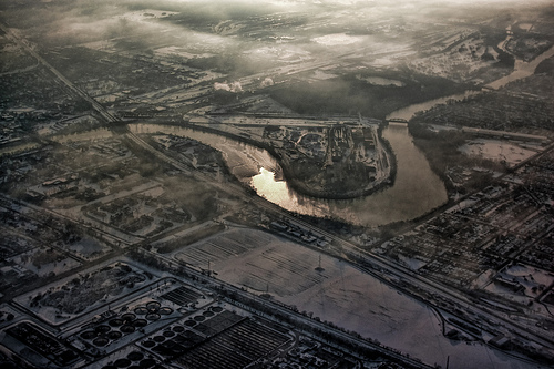Grand Calumet River in south Chicago
