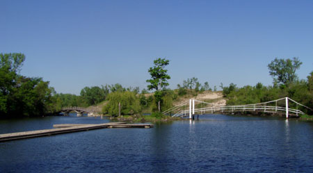 Marquette Park lagoon