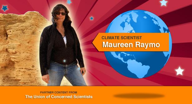 Maureen Raymo.