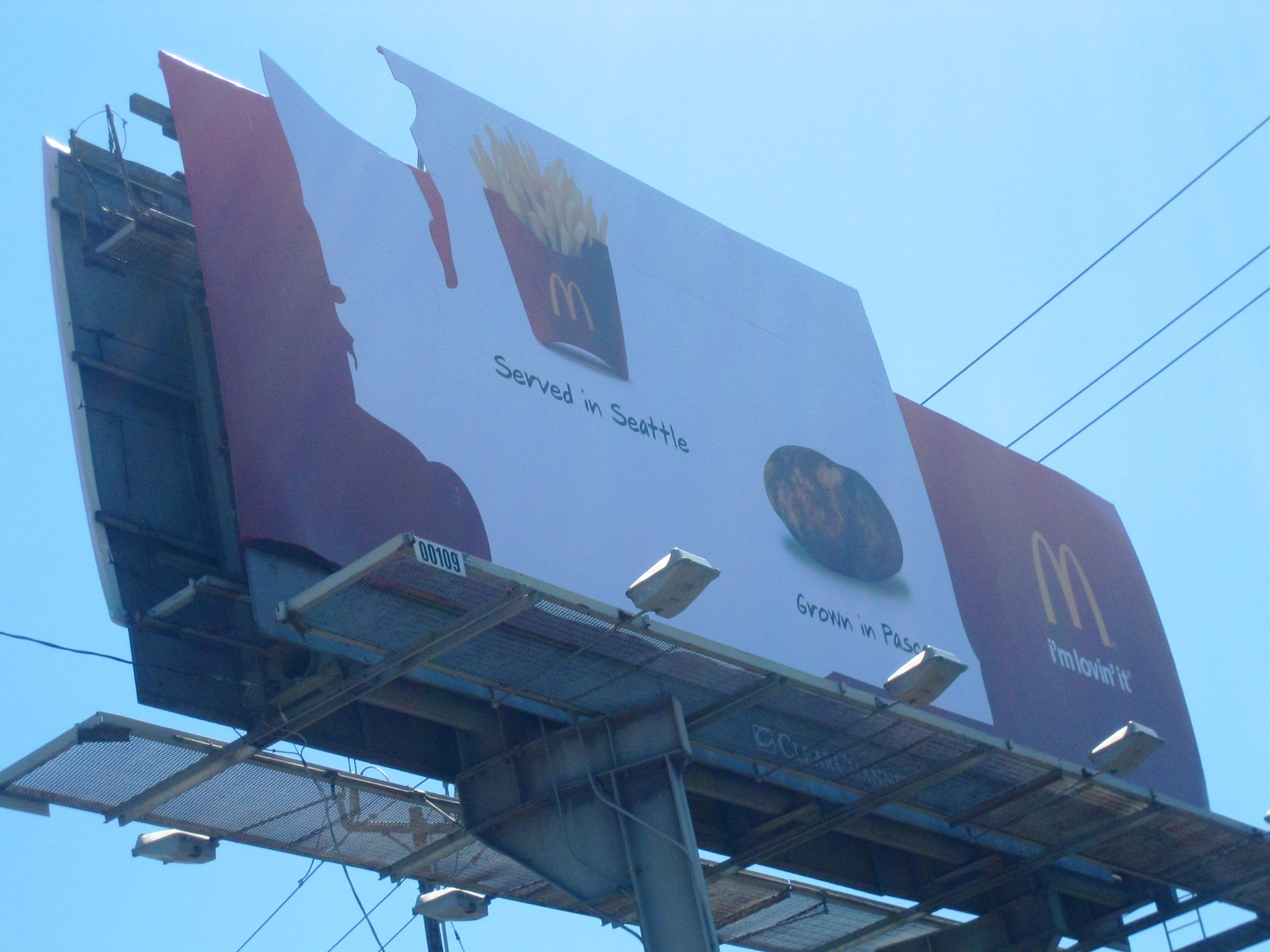 Another McDonald's billboard
