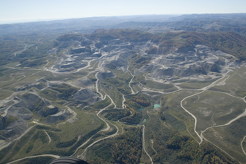 Appalachian mountaintop removal.