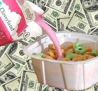 Cash and cereal