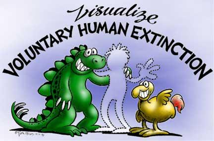 cartoon: 'visualize voluntary human extinction'