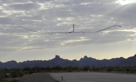Solar drone.