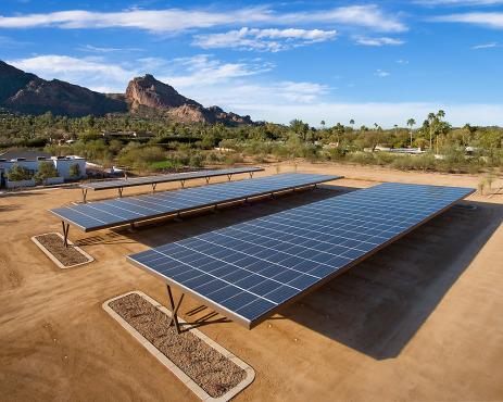 AZ solar carport.