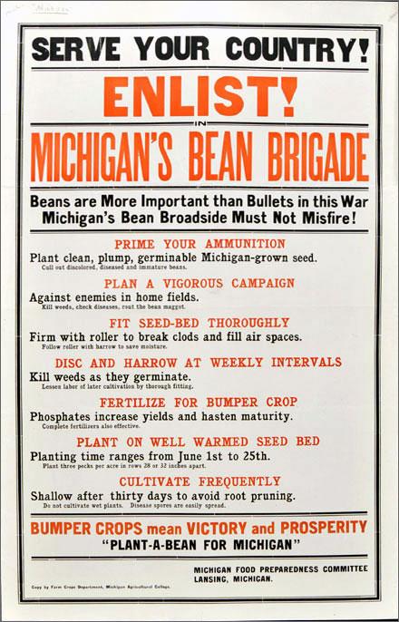 Michigan's bean brigade