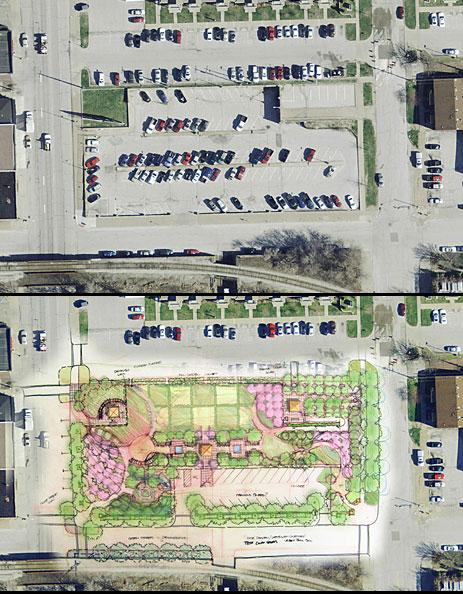 Parking garage plans