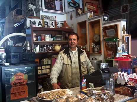 Shopkeeper in Oakland