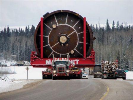 Huge truck.