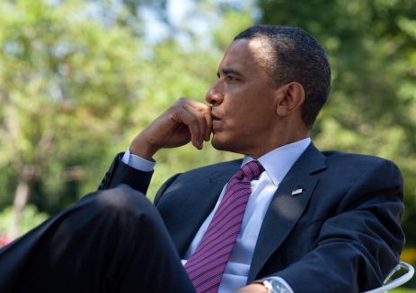 Obama thinking.