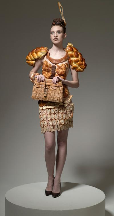 Bread dress.