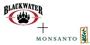 blackwater and monsanto logos
