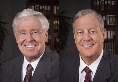 Charles Koch and David Koch