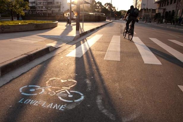 love lane bike lane