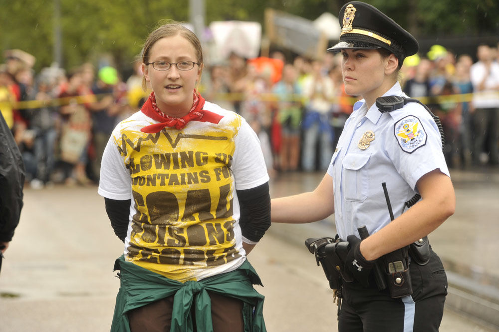 Mountaintop Removal Protest