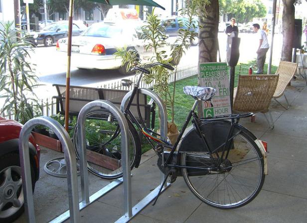 Parking day spot.