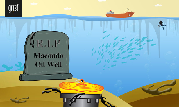 RIP oil well