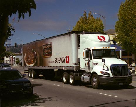 Safeway truck.