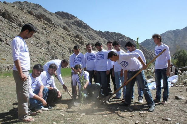 Afghanistan 10-10-10 tree planting