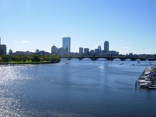 Boston's skyline.