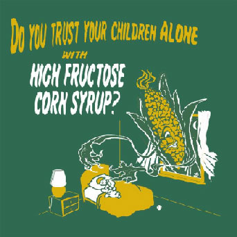 Scary corn HFCS goblin