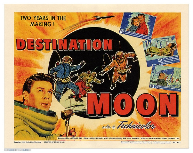 Destination Moon movie poster