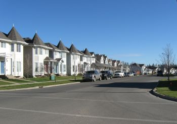 Fort McMurray streetscape