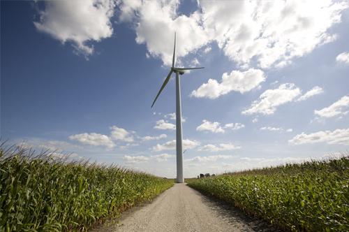GE wind farm in Illinois