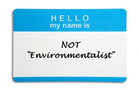 Hi my name is not environmentalist