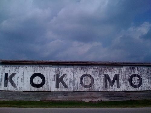 A sign in Kokomo, Ind.