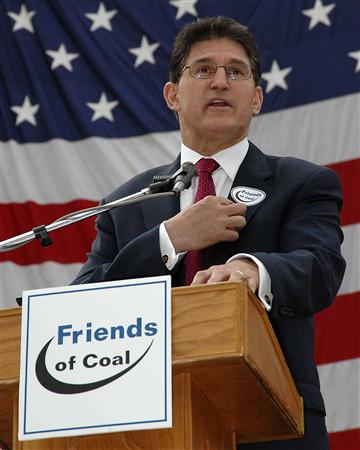 Joe Manchin, friend of coal