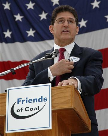 Joe Manchin, friend of coal