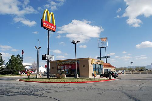 A McDonalds