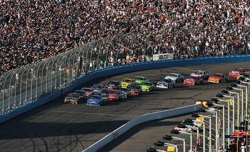 NASCAR crowd