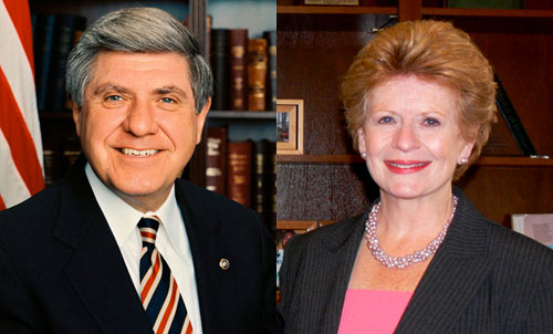 Ben Nelson and Debbie Stabenow