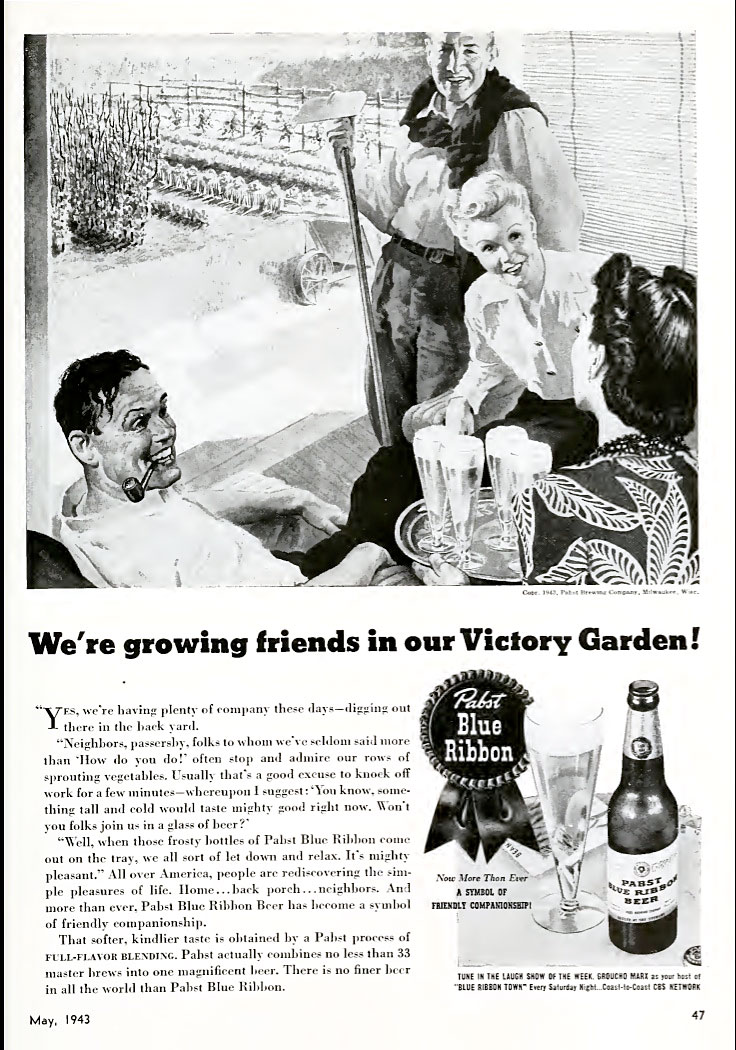 Vintage Pabst ad