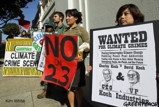 Prop 23 protestors