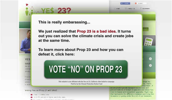 Yes on Prop 23