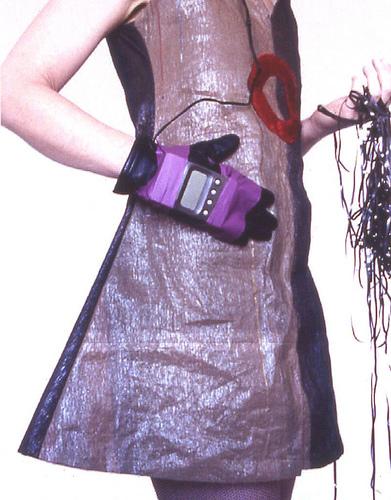Reused dress.