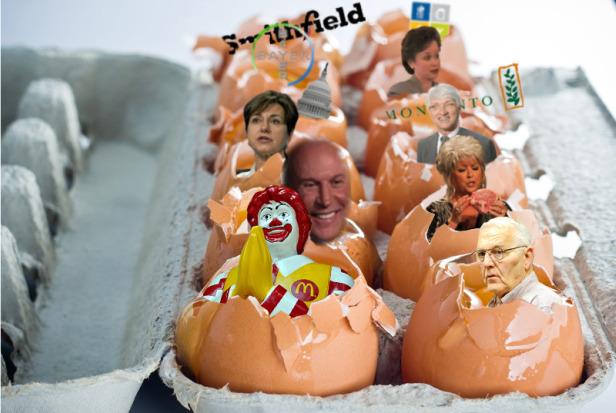 Rotten eggs.