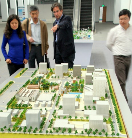Industrial park model.
