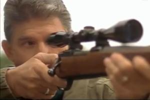 Manchin takes aim