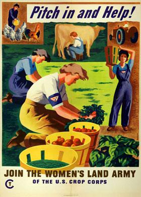 World War II era poster