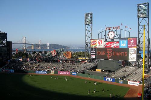 AT&T Park in San Francisco