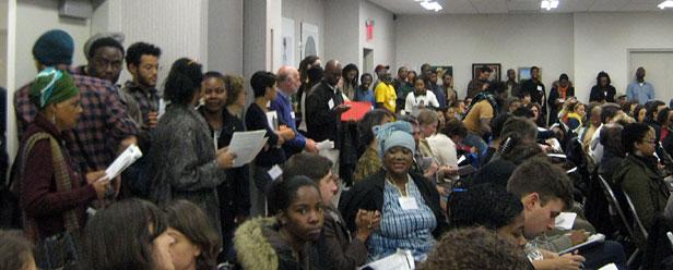 Room full of black farmers